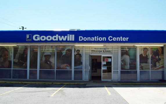 Goodwill Donation Center in Collier Road, GA