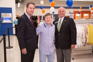 Charlie Cranford at Goodwill of North Georgia's 50th store opening